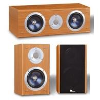 Комплект акустики Pure Acoustics XTI 100 S&C (цвет красное дерево)